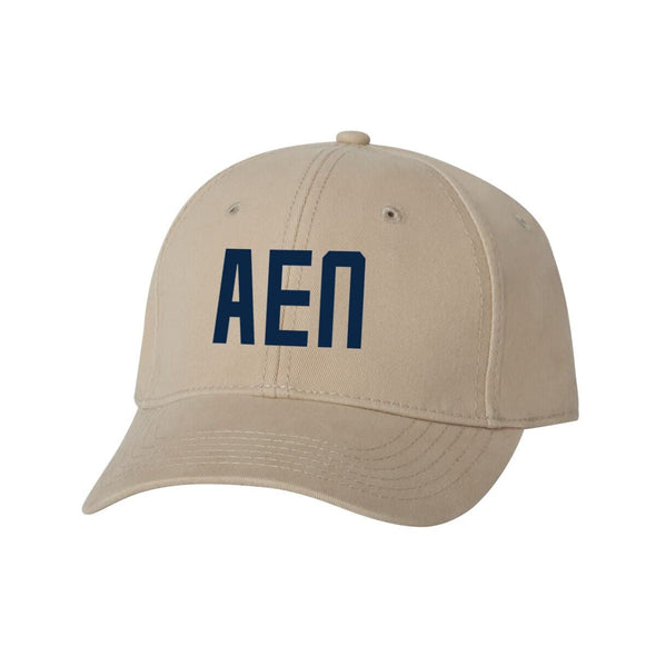 AEPi Structured Greek Letter Hat