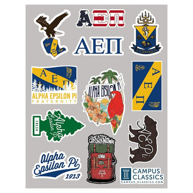 AEPi Sticker Sheet
