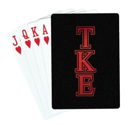 Tau Kappa Epsilon Playing Cards