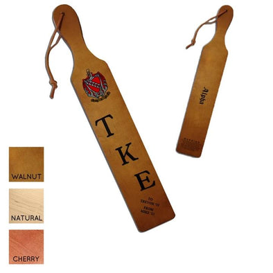 TKE Personalized Traditional Paddle