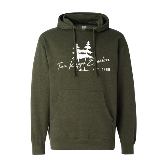 Teke Hoodie with Sewn On Letters