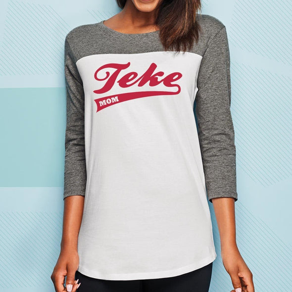 TKE Mom 3/4 Sleeve Tee