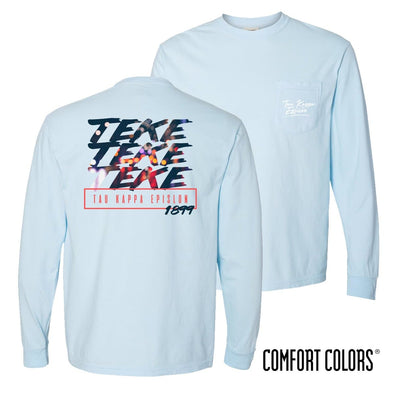 TKE Comfort Colors Chambray Long Sleeve Urban Tee