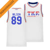 TKE Personalized Retro Block Basketball Jersey