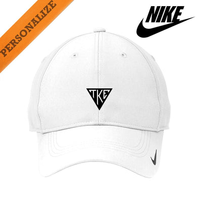 New! TKE Personalized White Nike Dri-FIT Performance Hat