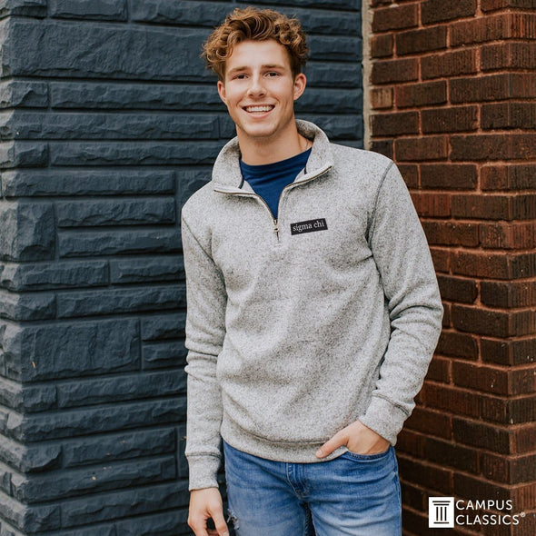 Sale!  Sigma Pi Vintage Outdoor Quarterzip