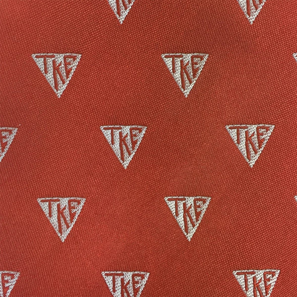 Sale! TKE Greek Letter Silk Tie