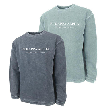 New! Pike Charles River Corded Crew Sweatshirt