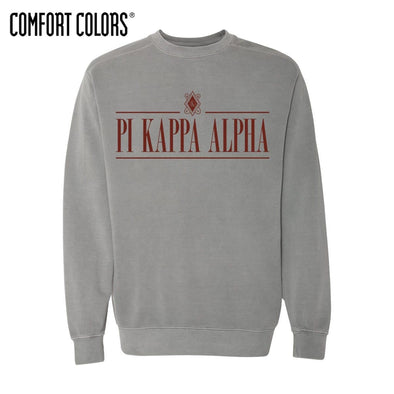 Pike Gray Comfort Colors Crewneck