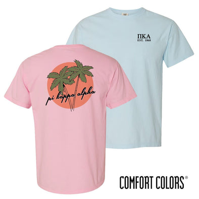 New! Pike Comfort Colors Palm Trees Tee