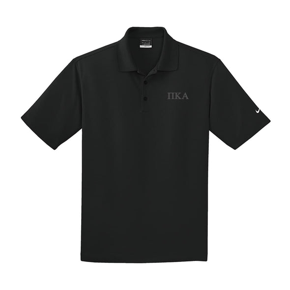 Pike Black Nike Performance Polo