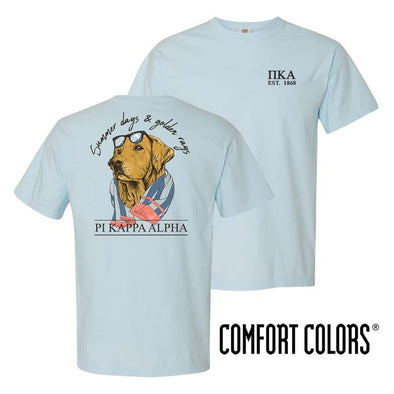 Pike Blue Comfort Colors Retriever Tee