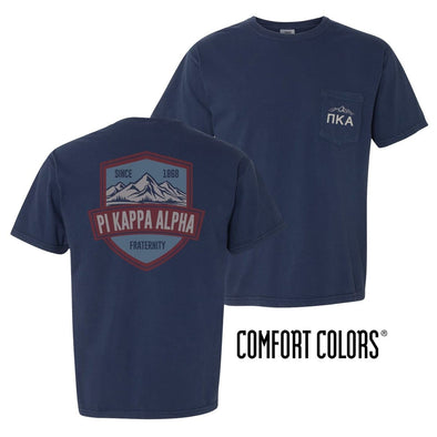 Pike Comfort Colors Mountain Pocket Tee