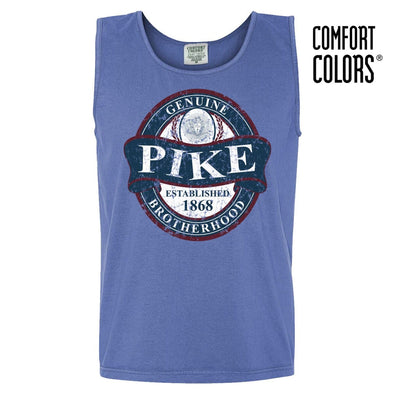 Pike Faded Blue Comfort Colors Tank