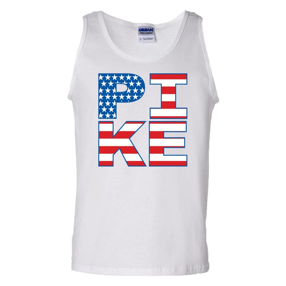 Pike White USA Tank Top