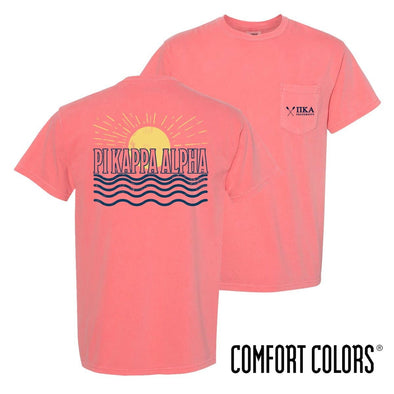 New! Pike Comfort Colors Short Sleeve Sun Tee