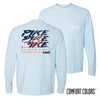 Pike Comfort Colors Chambray Long Sleeve Urban Tee