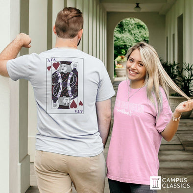 New! Sigma Nu Comfort Colors Pink Sweetheart Tee