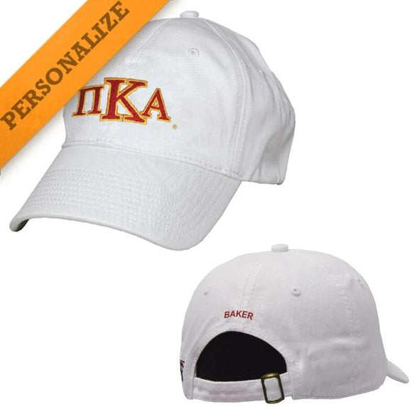 Pike Personalized White Hat