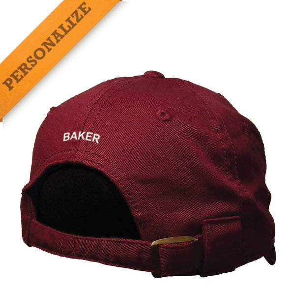 Pike Maroon Personalized Hat By The Game®