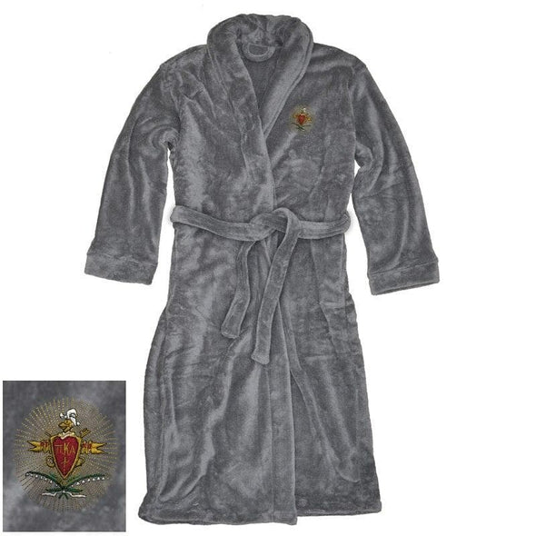 Sale! Pike Charcoal Ultra Soft Robe