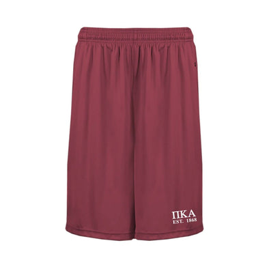 Pike Garnet Pocketed Performance Shorts