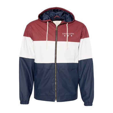 Pike Color Block Rain Jacket