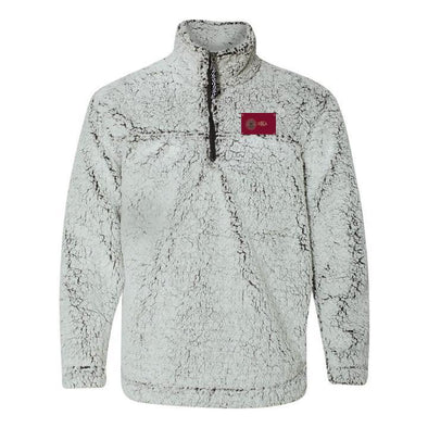 Pike Flag Sherpa 1/4 Zip Pullover