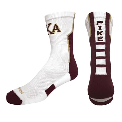 Sale! Pike White Performance Socks