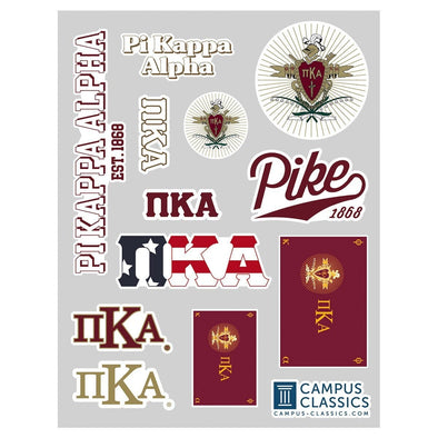 Pike Classic Sticker Sheet
