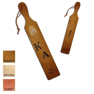 Kappa Alpha Personalized Traditional Paddle