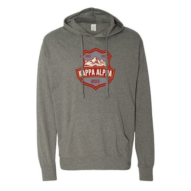 Kappa Alpha Lightweight Mountain T-Shirt Hoodie