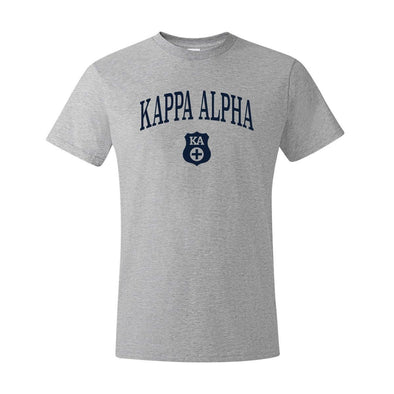 New! Kappa Alpha Heather Gray Symbol Tee