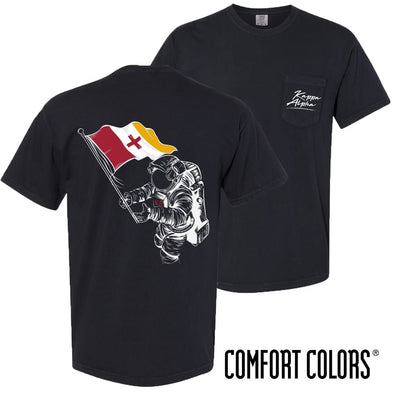 Kappa Alpha Comfort Colors Astronaut Short Sleeve Tee