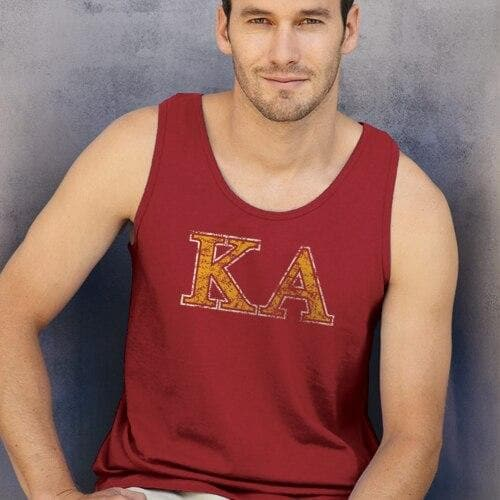 Kappa Alpha Red Athletic Tank Top