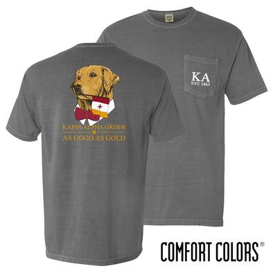 Kappa Alpha Comfort Colors Retriever Flag Tee