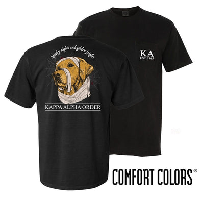 Kappa Alpha Comfort Colors Halloween Retriever Tee
