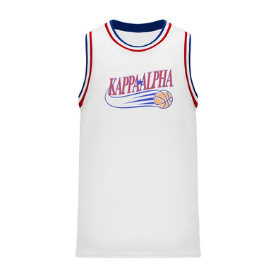 New! Kappa Alpha Retro Swish Basketball Jersey