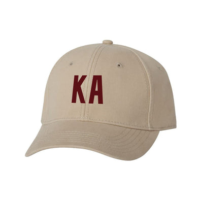 Kappa Alpha Structured Greek Letter Hat
