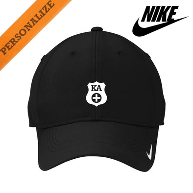 Kappa Alpha Personalized Black Nike Dri-FIT Performance Hat