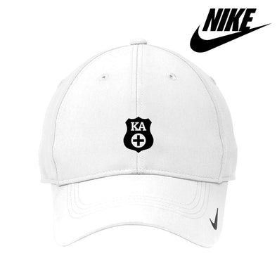 Kappa Alpha White Nike Dri-FIT Performance Hat