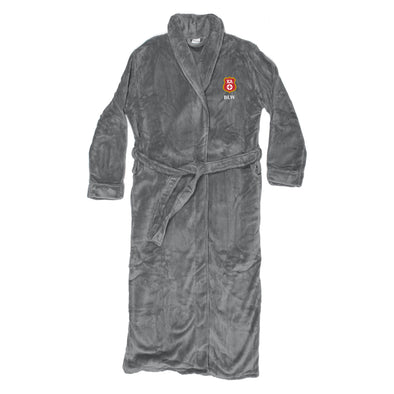 New! Kappa Alpha Personalized Charcoal Ultra Soft Robe