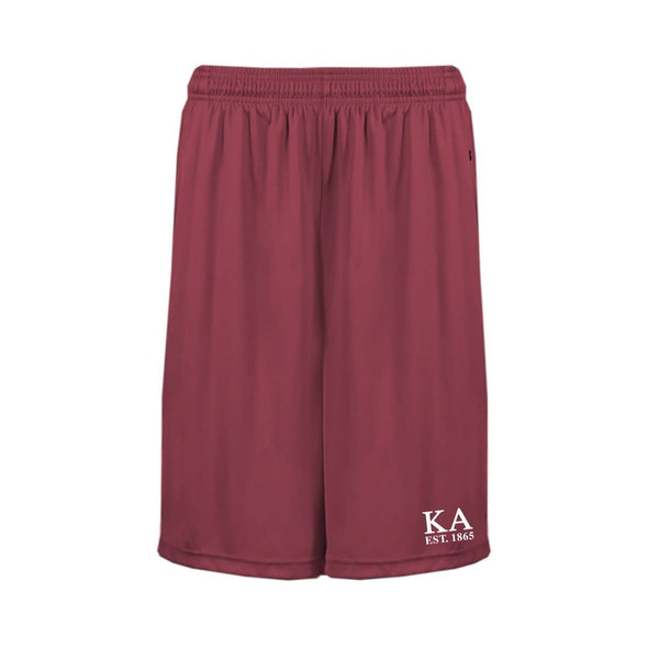 Kappa Alpha Cardinal Pocketed Performance Shorts
