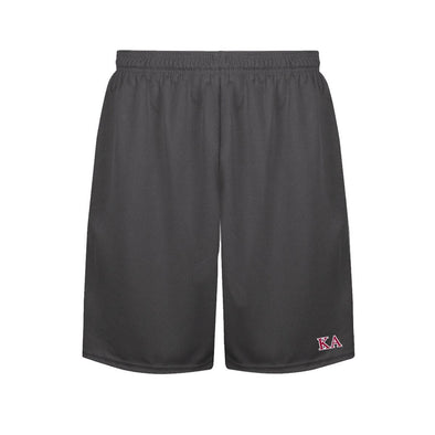 Kappa Alpha Charcoal Performance Shorts