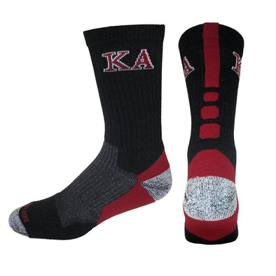 Kappa Alpha Order Black & Cardinal Performance Shooter Socks