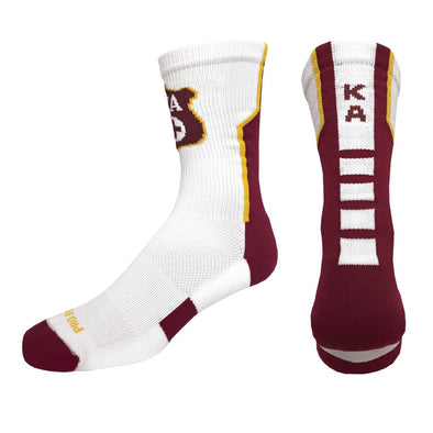 Sale! Kappa Alpha Order White Performance Socks