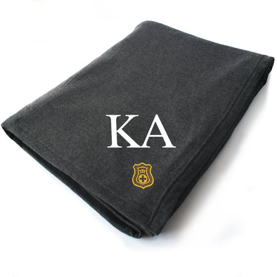 New! Kappa Alpha Symbol Blanket