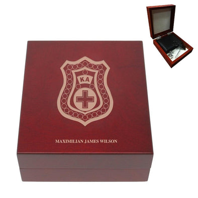 Sale! Kappa Alpha Personalized Rosewood Box