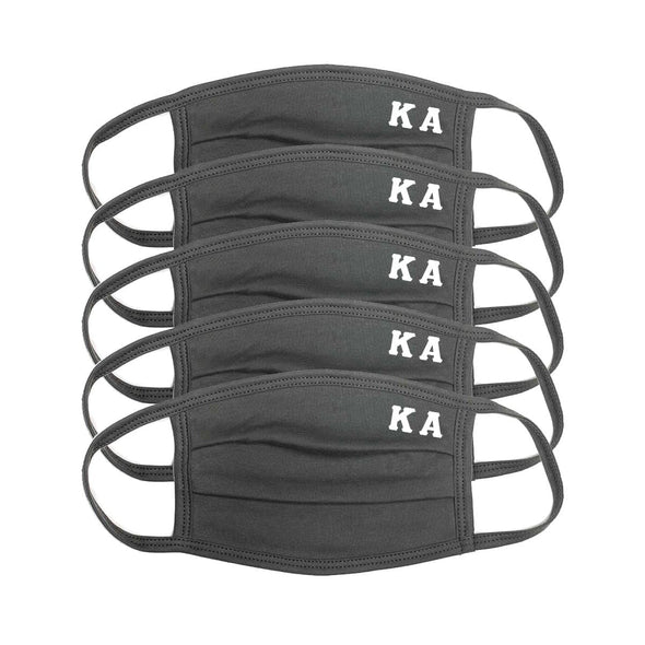 Kappa Alpha Paneled Face Mask