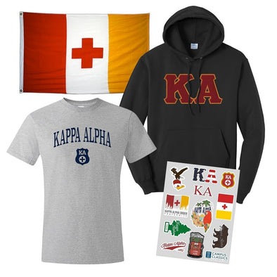 New! Kappa Alpha Ultimate New Member Bundle
